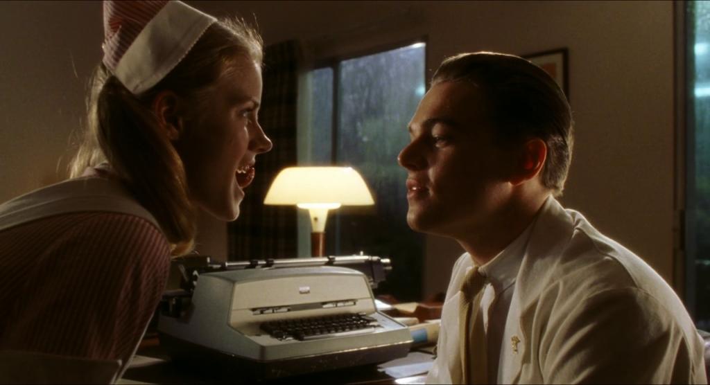 Arrête-moi si tu peux Appareil dentaire Amy Adams et Leonardo Dicaprio
