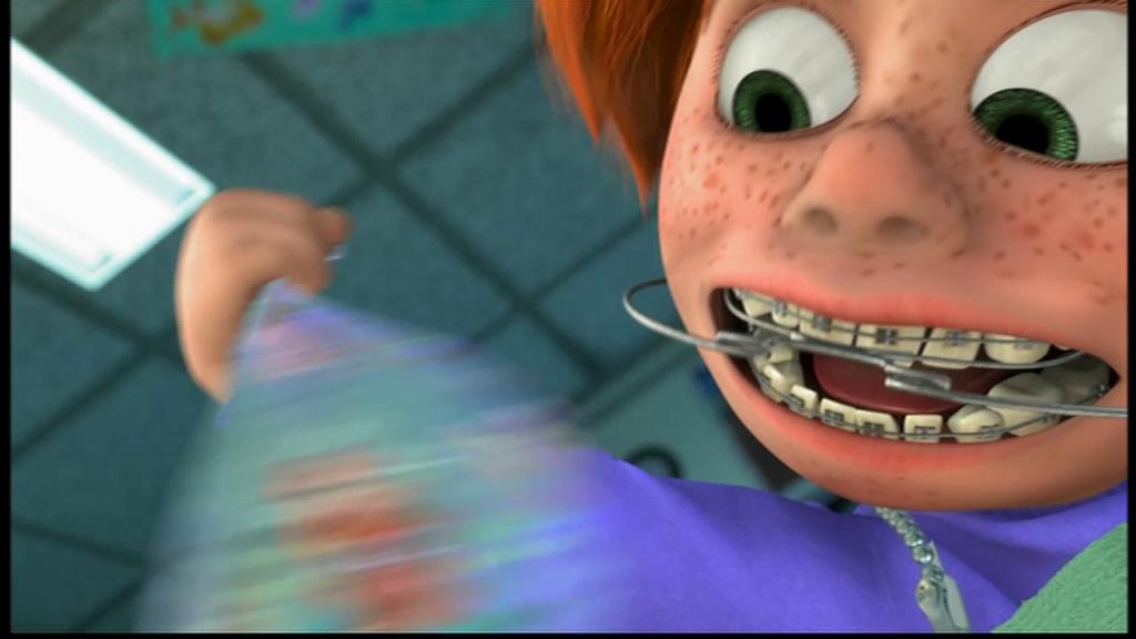 Le monde de Nemo appareil dentaire Darla et Nemo