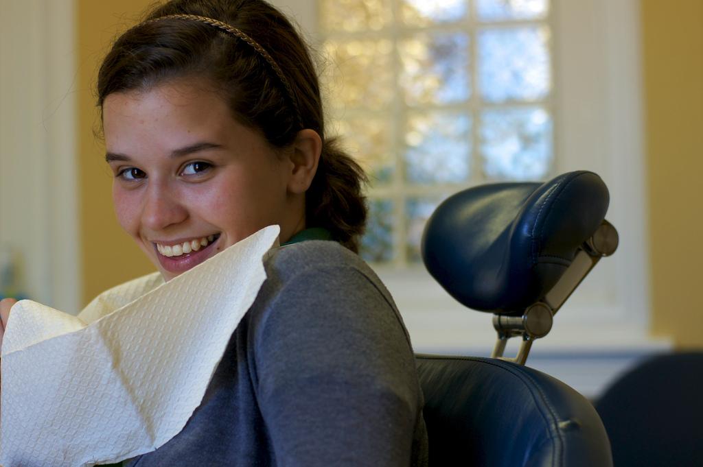 Il est conseillé de faire un blanchiment des dents après le traitement orthodontique.